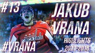 JAKUB VRANA HIGHLIGHTS 17-18 [HD]