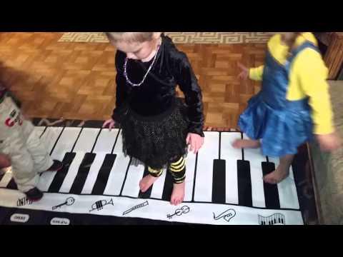 Click N' Play Gigantic Keyboard Play Mat #KidsPianoMat