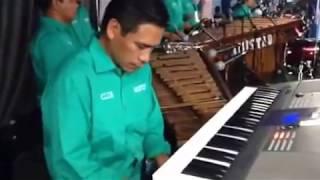 Marimba Club Amistad.Fiesta titular de Santa Eulalia.L.A.Calif 2015
