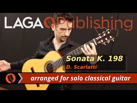 Sonata K.198 by D. Scarlatti - solo classical guitar arrangement by Emre Sabuncuoglu