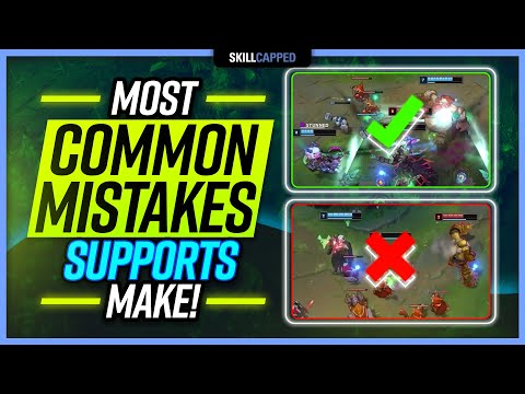 Low Elo Bad Habits: The MOST Common Mistakes by Support Players! – Support Guide