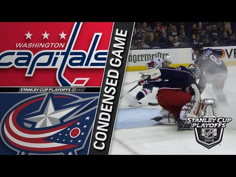 04/17/18 First Round, Gm3: Capitals @ Blue Jackets