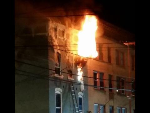 Shamokin Fire Bureau - 2nd Alarm  - 5th St - 2-11-17