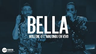 ► Wolfine - Bella Remix (ft. Maluma) EN VIVO