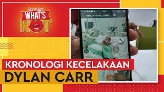 Kronologi Kecelakaan Mobil Dylan Carr