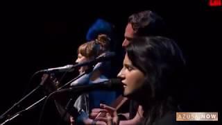 Steffany Gretzinger, Jeremy Riddle, Amanda Cook leading worship AzusaNow Cleveland