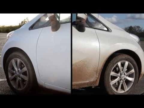 Nissan Note Ultra-Ever Dry, l'auto che non si sporca mai