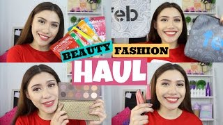 BEAUTY & FASHION HAUL (Zoeva, Becca, Korean Make-up, Skin Care) ♡ Purpleheiress