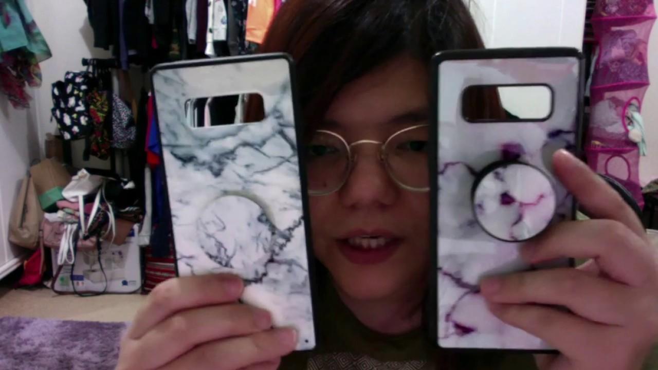 low priced 376b0 2fb7d Samsung Note 8 | Phone Case + Pop Socket Haul