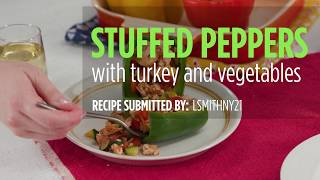 How to Make Stuffed Peppers with Turkey and Vegetables | Dinner Recipes | Allrecipes.com