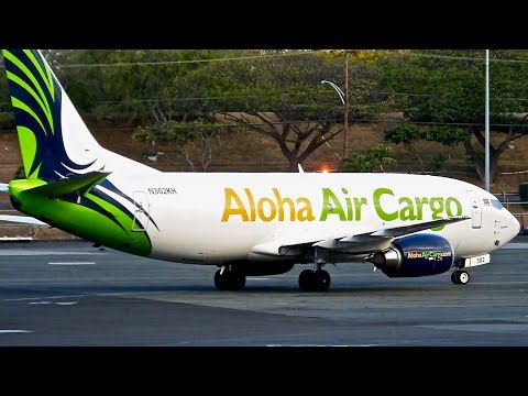 Honolulu (HNL) Spotting – Hawaiian/Island Air – Boeing 767-300 & More – Spotting Series Ep. 205