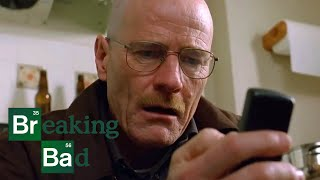 Walter Frantically Collects the Product from Jesse's House - Breaking Bad: S2 E11 Clip