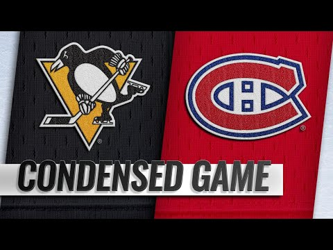 10/13/18 Condensed Game: Penguins @ Canadiens