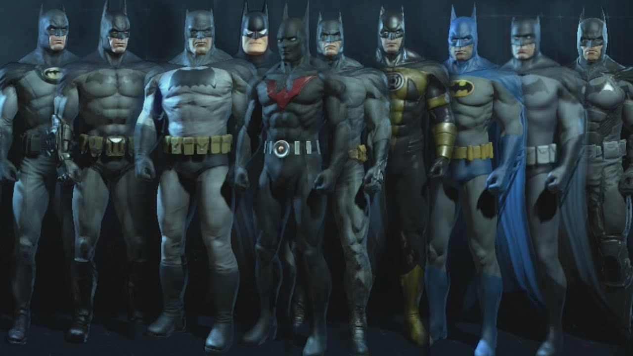 Batman arkham origins skins