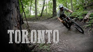 MTB Trail in Toronto - Roller Flowster - Ride and Review [4k] (2018)