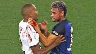 [乱闘・一触即発] ネイマール ブチ切れ・乱闘集 neymar fight