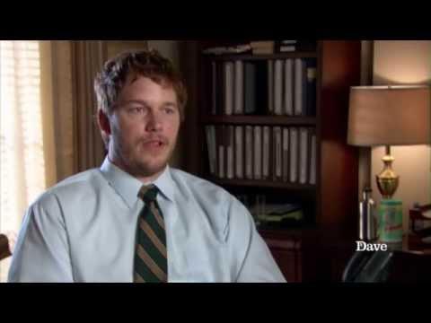 Chris Pratt talks Parks And Recreation Season 4 | Dave
