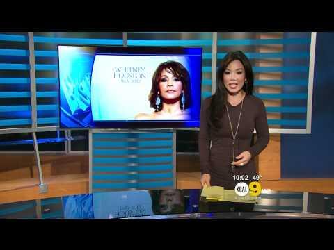 Sharon Tay 2012/02/13 KCAL9 HD; Grey dress