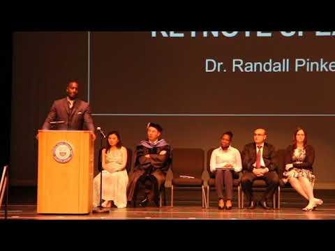 Central Jersey College Prep Charter School Graduation 2018, Keynote Speech by Randall Pinkett