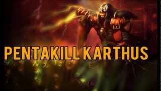 League of Legends - Pentakill Karthus Skin