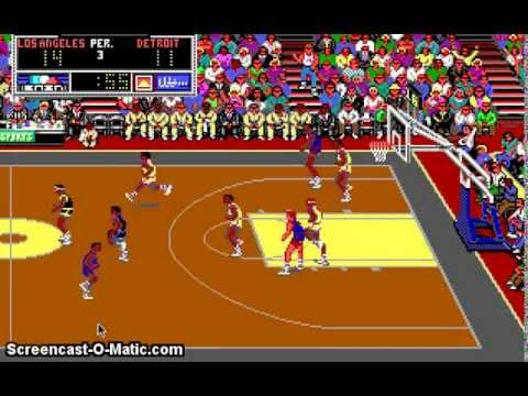 Dos Games Lakers Versus Celtics And The Nba Playoffs 1989 Youtube
