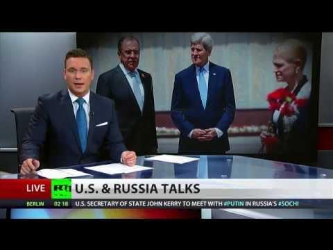 #SochiTalks: Kerry meets with Putin, Lavrov as Ukraine conflict looms over talks