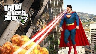 SUPER HOMEM SOBREVIVE A 6 ESTRELAS NO GTA 5 ?!?! (GTA 5 Mods)