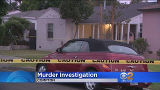 Girl, Stepfather Shot And Killed In Compton