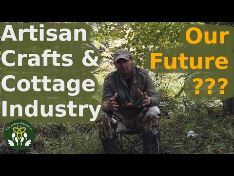 Future Artisan Society – crafts and cottage industry as the option to automation and unemployment