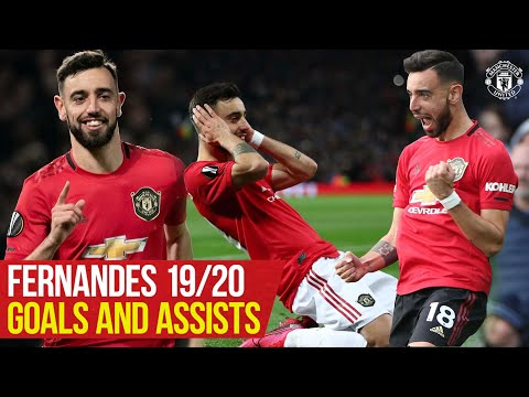 Bruno Fernandes   All The Goals and Assists 19/20   Manchester United