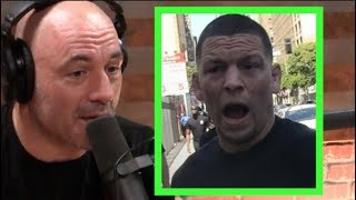 Joe Rogan - I'm Surprised Nate Diaz is Mad About Conor vs. Khabib