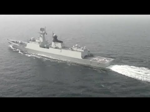 Chinese Navy Fleet Passes Through Tsushima Strait for Joint Drill with Russia