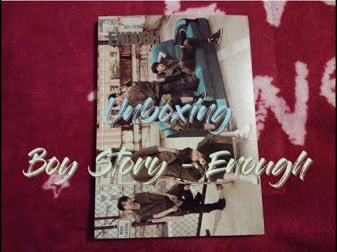 Unboxing: Boy Story – ENOUGH (ITA)