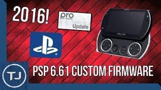 PSP/PSP GO 6.61 Custom Firmware Jailbreak (PRO CFW) 2017!