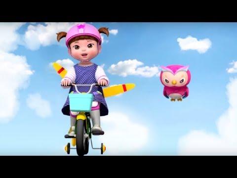 Песенка про летающий велосипед - Консуни песенка - серия 20 - The Flying Bicycle - Kids Song