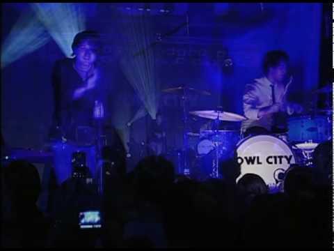 Vanilla Twilight - Owl City Live 2.1.2010