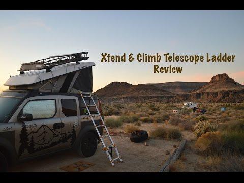 XTEND & CLIMB TELESCOPE LADDER REVIEW- HONDA ELEMENT ECAMPER