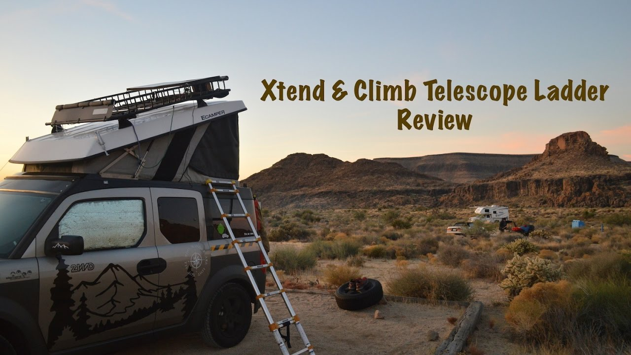 Xtend Amp Climb Telescope Ladder Review Honda Element