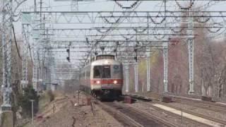 Railfanning Metro North Terriotry, Stratford CT 4/17/09
