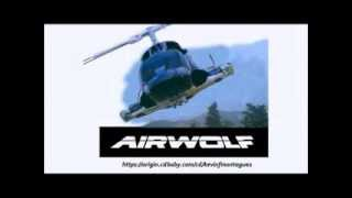 Airwolf Theme Music - Whiteboard Ad - Score by Kevin F. Montague