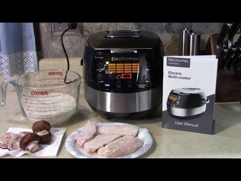 elechomes-multi-cooker-chicken-+-rice-with-mushrooms
