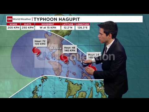 PHILIPPINES:TYPHOON WEATHER UPDATE