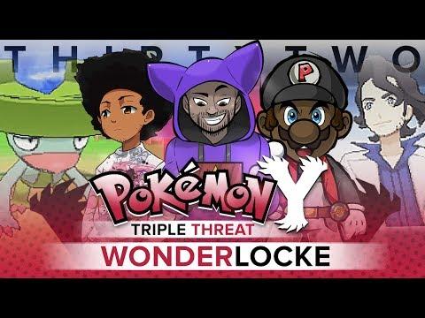 "Pokémon Y Triple Threat Wonderlocke - Ep 32 ""PROFESSOR A$$WHOOPINGS"""