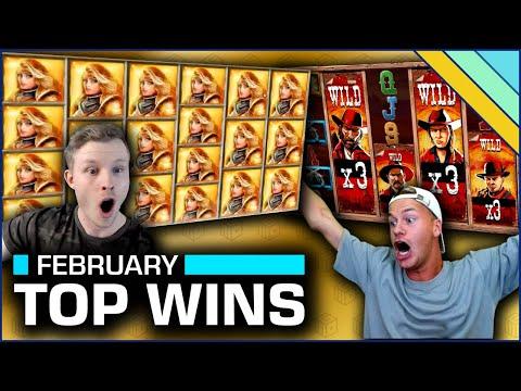 Top 10 Slot Wins of February 2020