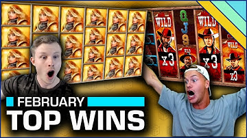 Top 10 Slot Wins of February 2020