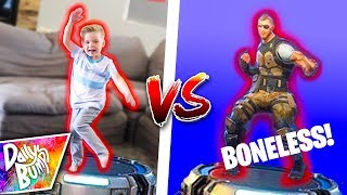 FORTNITE DANCE CHALLENGE!! 💥 (HILARIOUS!)