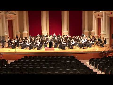 Mabry Middle School concert band - December 2018 #4