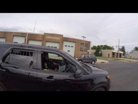 Willingboro NJ Crf250L Wheelie And Cop Encounter!! 2017  Instagram: _GTII_