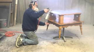 Refinishing A Table At Timeless Arts Refinishing  Http://www.timelessartgr.com/  Grand Rapids