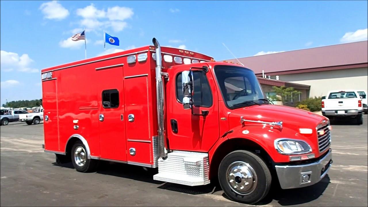 2013 Freightliner Braun Super Chief Ambulance Fie Rescue Truck For Sale